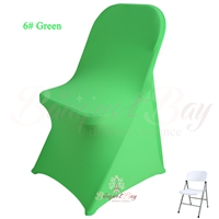 folding chair green homemade rocking cover banquet bar spandex cocktail table covers wedding stretch lycra for we