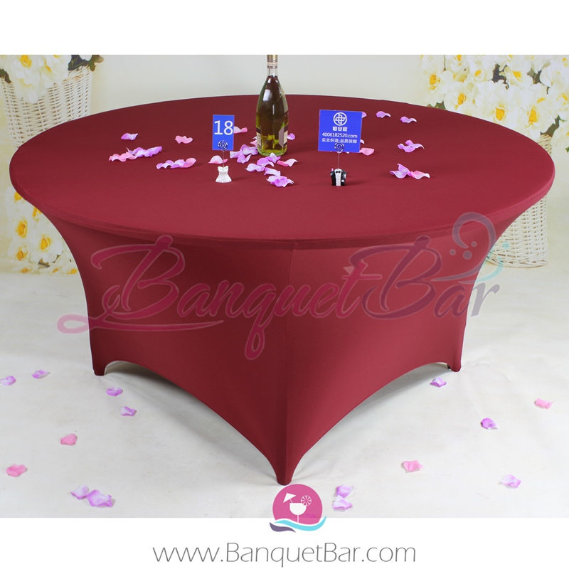 burgundy chair covers wedding office in jaipur stretch table spandex tablecloth lycra purchase guide