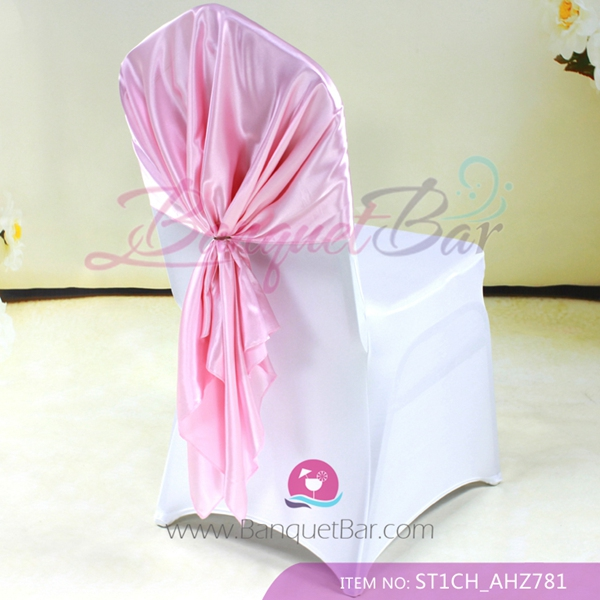 light pink spandex chair covers cover rentals las cruces nm cocktail table stretch for wedding satin cap sash