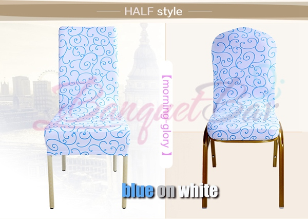 banquet chair covers for sale malaysia sashes diy morning glory printed stretch universal spp1cc 1 half style