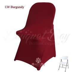 Stretch Chair Covers For Folding Chairs Bedroom With Hanger Spandex Cocktail Table Wedding Cover