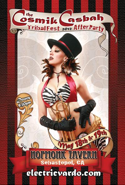Cosmik Casbah 2012 Flyer Front