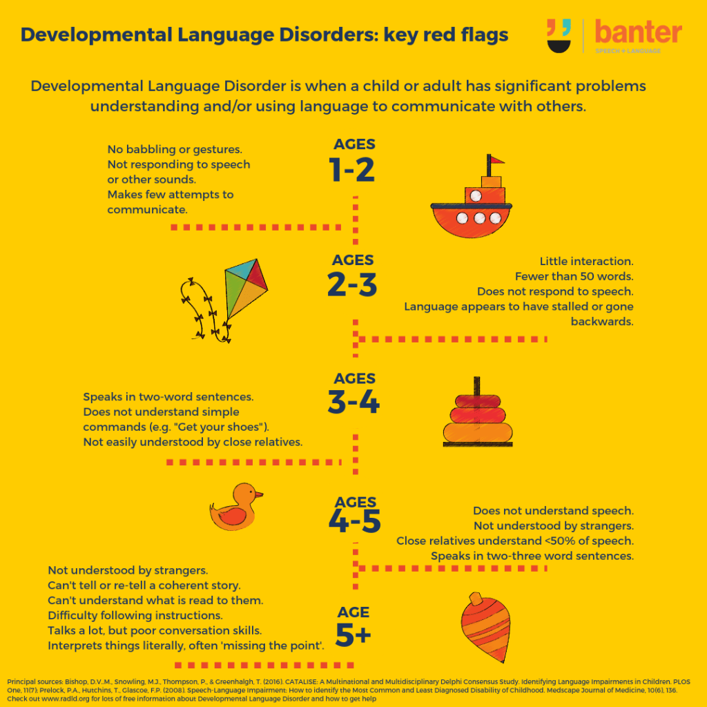 Developmental Language Disorder Key Red Flags
