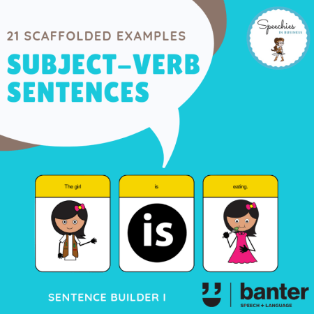Subject-Verb Sentences