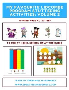 Lidcombe Program Activities