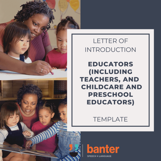 LETTER OF INTRODUCTION EDUCATORS