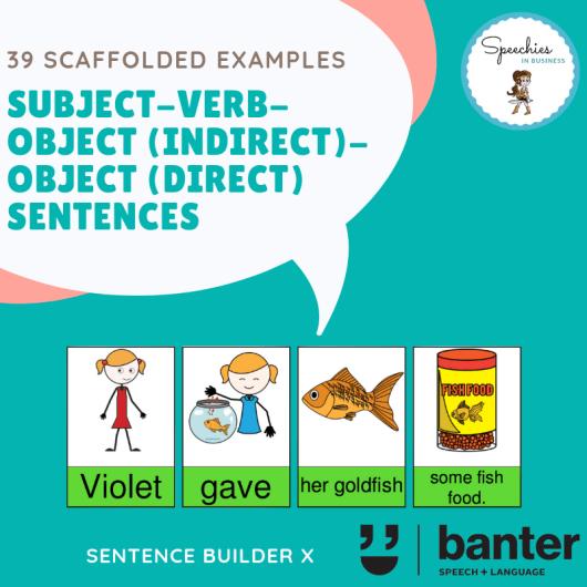 SVOiOd Sentences