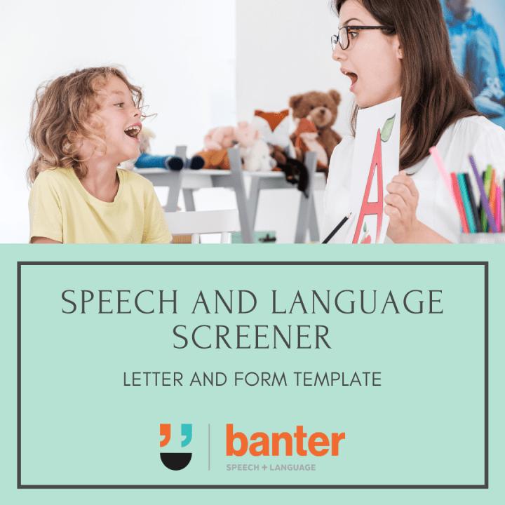 Speech and Language Screener