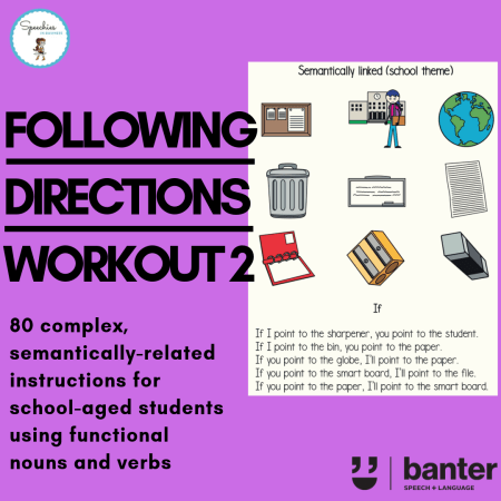 following directions workout 2