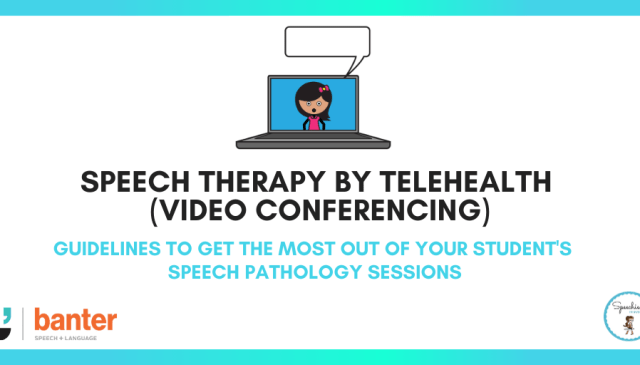 Twitter speech therapy by telehealth (video conferencing)