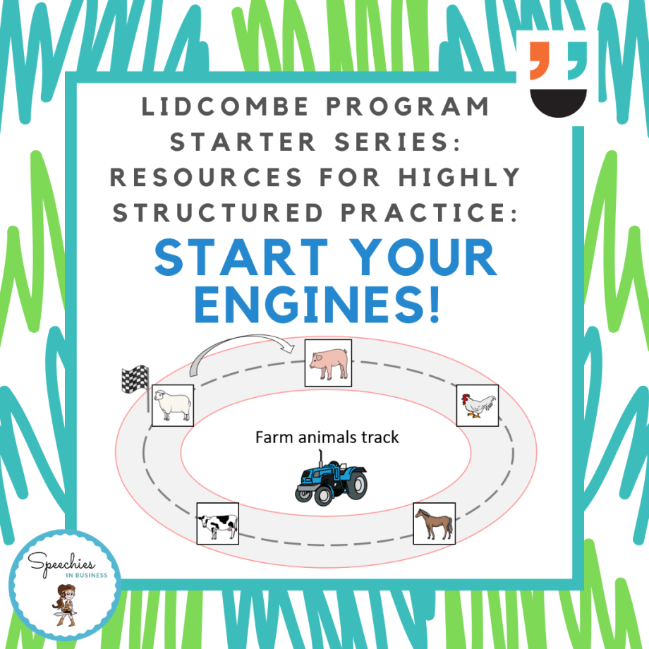 Lidcombe Program Starter Series Start Your Engines