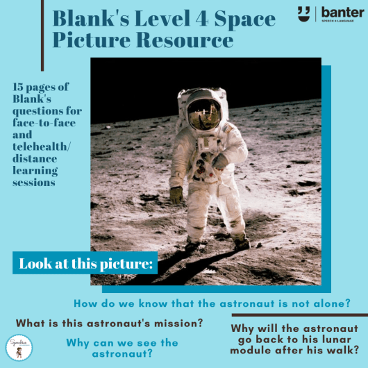 Blank's Level 4 Space Picture Resource