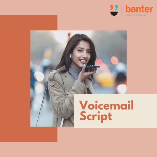 Voicemail Script