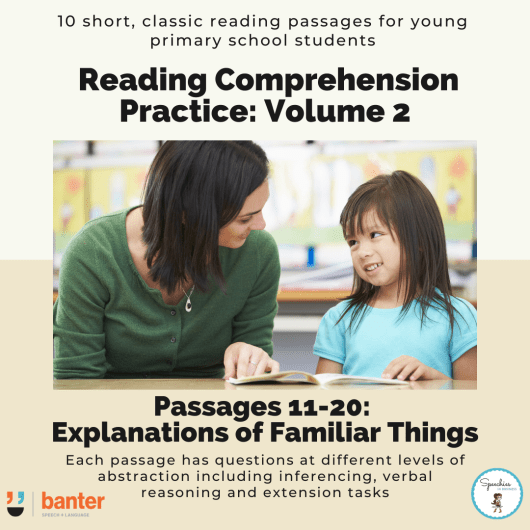 Reading Comprehension Practice Volume 2