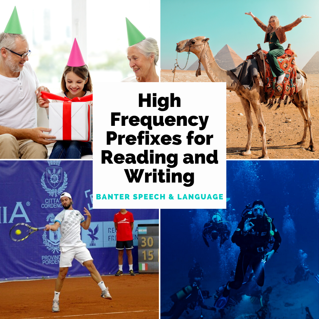 High Frequency Prefixes for Reading and Writing