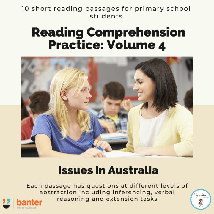 Reading Comprehension Practice_ Volume 4 Australia