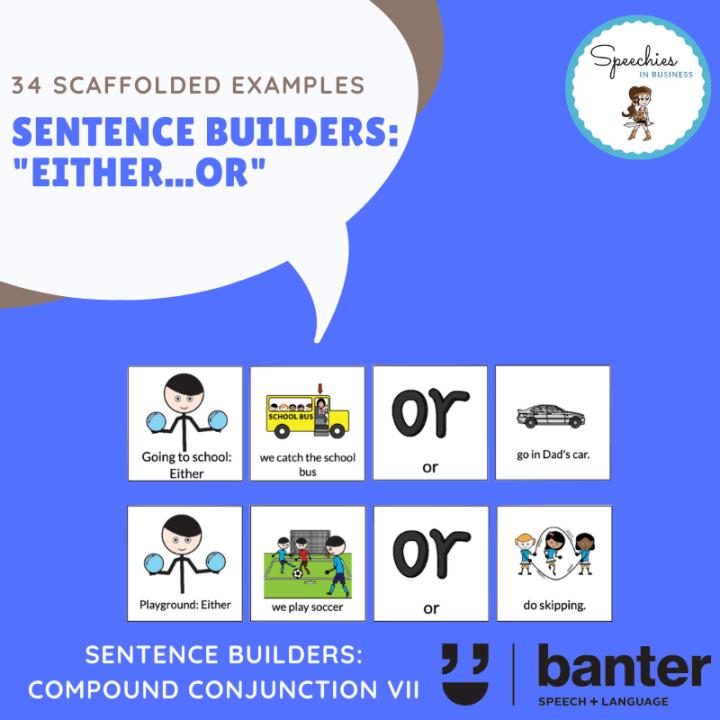 Either Or Sentence Builder