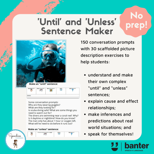 'Until' and 'Unless' Sentence Maker