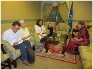 Pertemuan dengan seorang anggota Majlis (Dewan Perwakilan Rakyat)