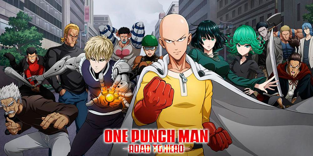 Portada del juego One Puch Man: Road to Hero