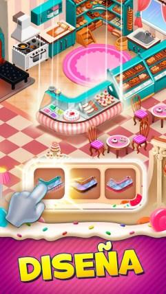 diseña tu propia pastelería en sweet escapes