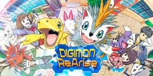 Portada del juego Digimon ReArise