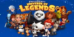 Portada del juego DreamWorks Universe of Legends