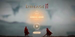 Imagen de la web del juego Lineage 2M
