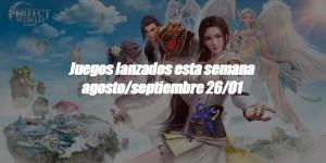 Imagen de Juegos lanzados esta semana