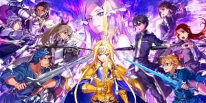 Portada del juego Sword Art Online Alicization