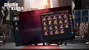 Guía para subir personajes en el juego Crime Kings