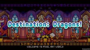 Portada del juego Destination: Dragons!