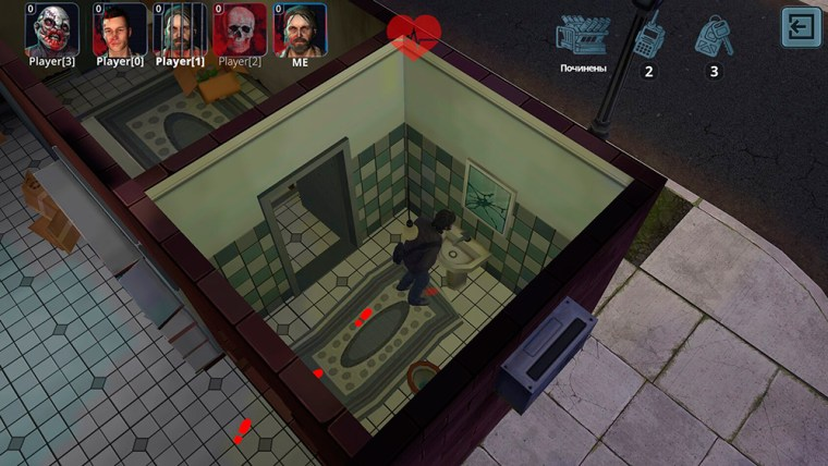 Gameplay del juego Horror Show