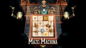 Portada del juego Maze Machina
