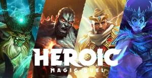 Portada del juego Heroic: Magic Duel