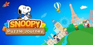 Portada del juego SNOOPY Puzzle Journey
