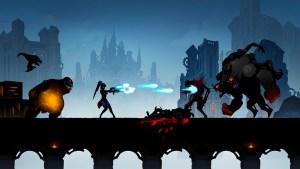 Gameplay del juego Shadow Knight: Deathly Adventure