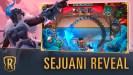 Sejuani y la región de Freljord llegarán a Legends of Runeterra