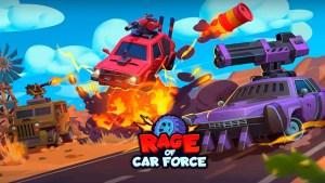 Portada del juego Rage of Car Force iOS Android