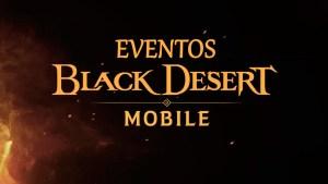 Eventos en Black Desert Mobile