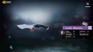Cuchillo Moonstone en Call of Duty Mobile