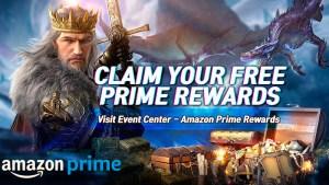 Amazon Prime en King of Avalon