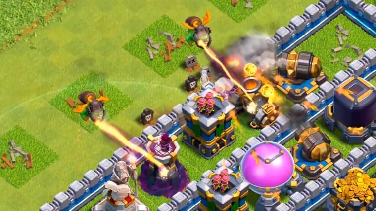 clash of clans nueva supertropa el dragón infernal