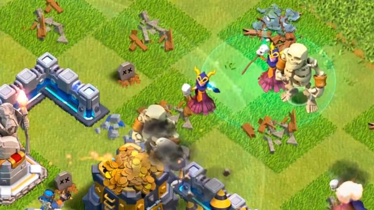 clash of clans nueva supertropa la superbruja