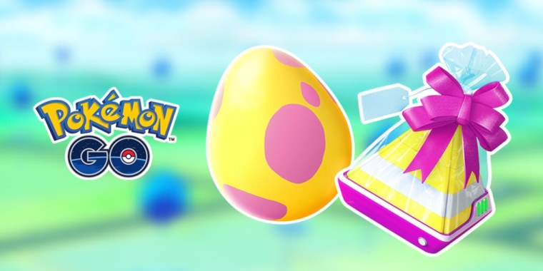 Pokémon Go huevos de 7km para Junio.
