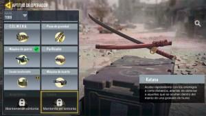 Operador Katana en Call of Duty Mobile