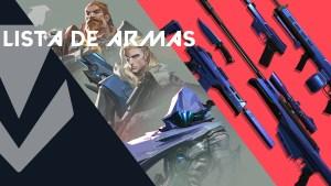 Lista de armas en Valorant