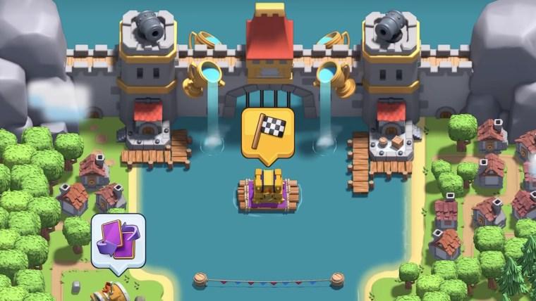 clash royale guerra de clanes II cofre río