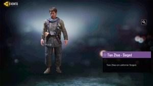 Tian Zhao Sieged en Call of Duty Mobile