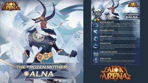 Alna Madre congelada en AFK Arena